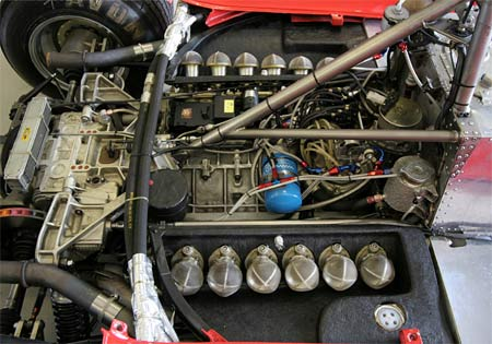 On Board Fire Systems For Race Cars