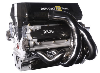 Renault RS26 V8 engine