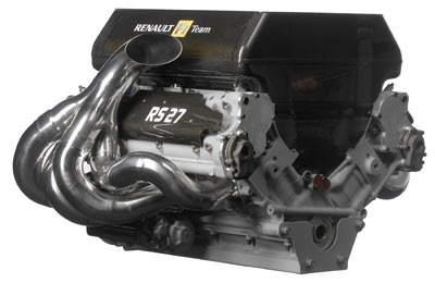 Renault RS27 V8 engine
