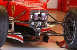 Ferrari's 2006 single keel solution